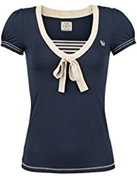 Vive Maria Sweet Ahoi Girl-Shirt blau
