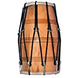 Music House Wooden Dholak - Brown