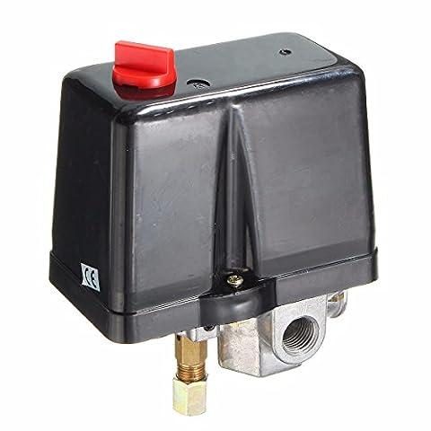 MASUNN 1/4inch BSP 380V 160Psi Air Compressor Pressure Switch Single