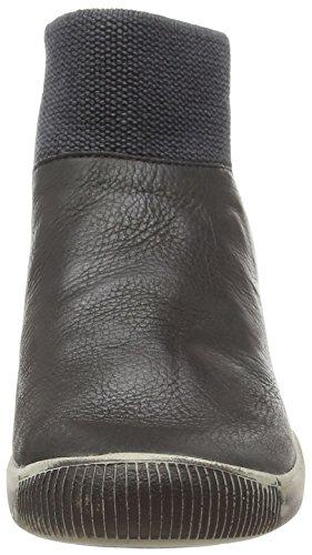 Softinos IME335SOF smooth, Bottes Classiques femme Noir - Noir