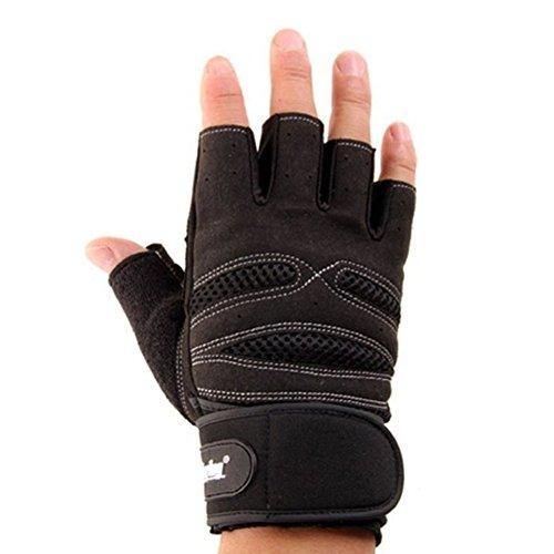 Bluebeachâ® Men s Fitness – Weight Lifting Gloves