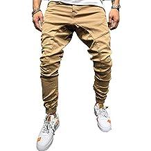 dfb33c52909693 ZC GF Herren Hose Jogger Chino Jeans Freizeithose Streetwear Slim Fit  Jogginghose Stoffhose