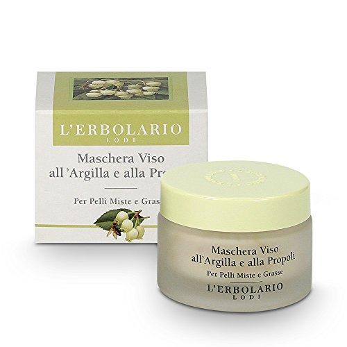 L'Erbolario Tonerde und Propolis Maske, 1er Pack (1 x 50 ml)