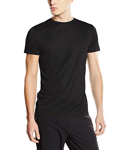 Stedman Apparel Herren T-Shirt Active Sports-t/st8000 Schwarz - Black Opal