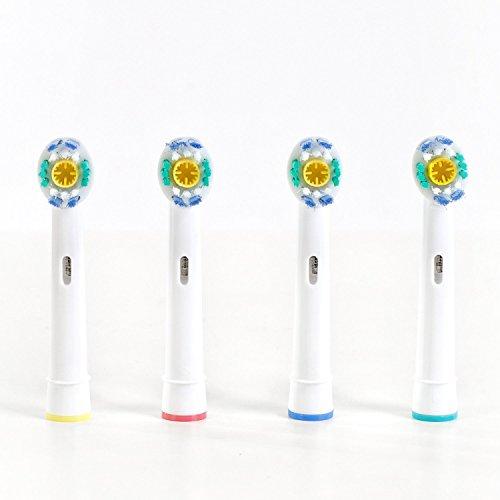 Compatibili OralB- Confezione da 8 ricambi compatibili OralB 3D White
