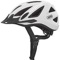 Abus Urban-I V.2 Signal - Casco de ciclismo unisex para bicicleta BMX, color blanco, talla M ( 55 - 61 cm )