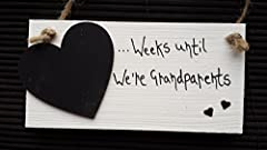 Idea Regalo - 'Weeks al we're GRANDPARENTS'-Countdown