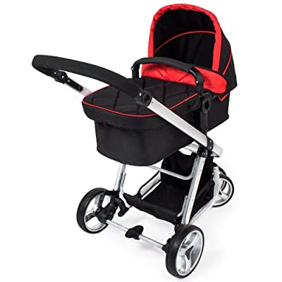 TecTake 3 in 1 Kinderwagen Kombikinderwagen Buggy Babyjogger Reisebuggy Sportwagen Kids -diverse Farben-