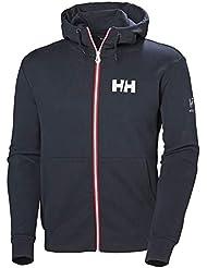 Helly Hansen HP Atlantic FZ Hoodie, Hombre, Navy, L