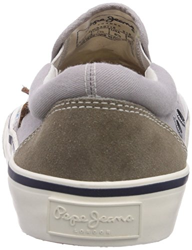 Pepe Jeans Harry, Baskets mode homme Gris (919)