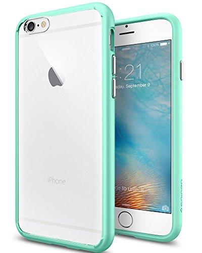 iPhone 6S Hülle, Spigen® [Ultra Hybrid] Luftpolster-Technologie [Mint Grün] Durchsichtige Rückschale und TPU-Bumper Schutzhülle für iPhone 6/6S Case, iPhone 6/6S Cover - Mint (SGP11601)