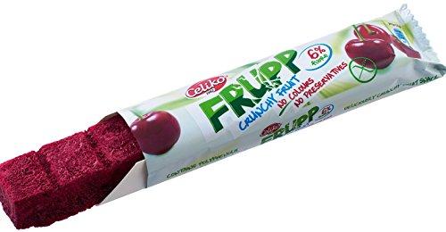 FRUPP – Der Gefriergetrocknete Kirschenriegel 10 pack (10 x 10 GR) nur 35 kcal glutenfrei