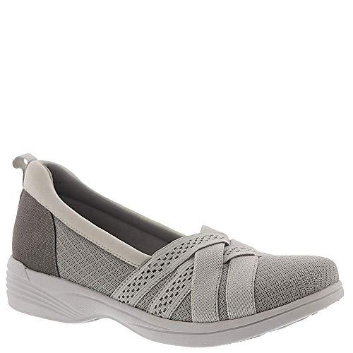 Easy Street Frauen Flache Sandalen Grau Groesse 12 US /43 EU - Pointy Toe Knee High Boots