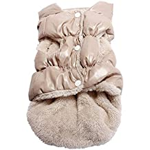Perro del Invierno Caliente de la Capa Abrigos Chaquetas Perro de Mascota Ropa del Invierno del