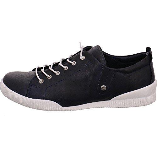 Andrea Conti Damen 0345724 Sneaker Blau (Dunkelblau)