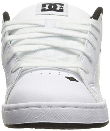 DC Shoes COURT GRAFFIK SE SHOE D0300927, Scarpe sportive uomo White/Charcoal
