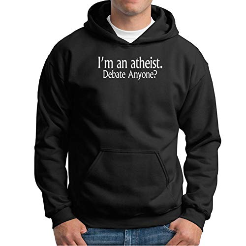 Visual Basics I'm An Atheist Debate Anyone Kapuzenpullover/Hoodie - Schwarz - X-Large