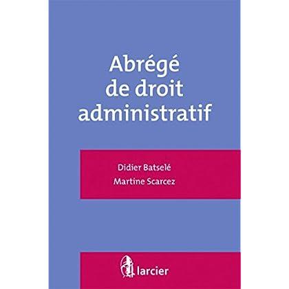 Abrégé de droit administratif