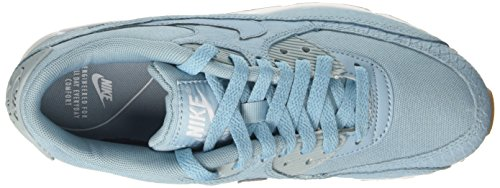 Nike Damen Wmns Max 90 Prm Trainer Türkis (Mica Blue/mica Blue/gum Yellow)