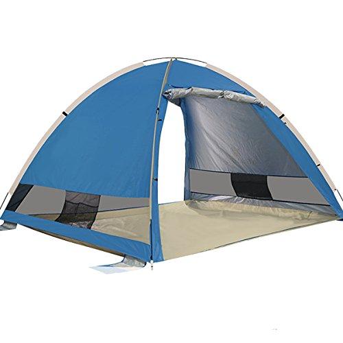 G4Free Outdoor Automatik Pop Up Beach Zelt Instant Gro?e Familie Cabana 3-4 Person Anti UV Sonne Schutz