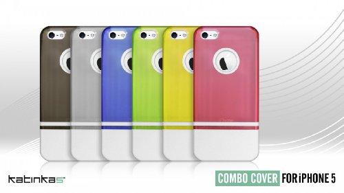 Katinkas Combo Case für Apple iPhone 5 transparent Pink
