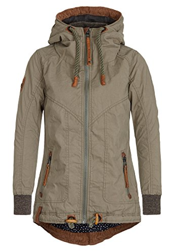 Naketano Female Jacket Watch this thing bounce Olive, L