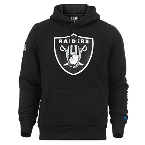 New Era 'NFL Team Logo Oakland Raiders' Hoodie - black, Schwarz, 4XL