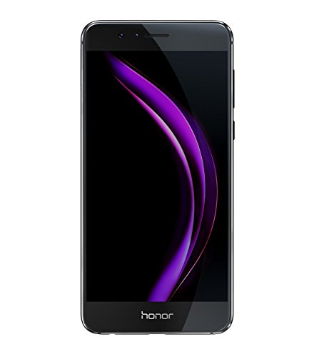 "Honor 8 - Smartphone Libre de 5.2"" (4G, WiFi, Bluetooth, Dual Nano SIM, 4 GB de RAM, 32 GB de Memoria Interna, cámara de 12 MP/8 MP, Android), Color Negro"