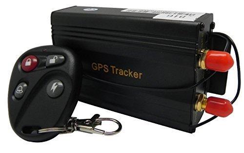 Gearmax® Träger-Auto GPS-Verfolger 103B mit Fernbedienung GSM Alarm SD Card Slot Diebstahlrealtime Spy Tracker GPS103B TK103B für GSM GPRS GPS-System Tracking Device