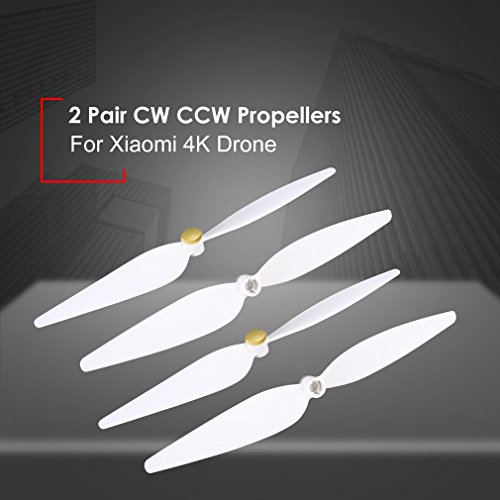 【2】 Propellers Packages 10 inch Replacement Accessory Kit】 【4 Packs Palas CW CCW Propellers for RC Drone Quadcopter Xiaomi 4K Version