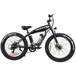 Velobecane bicicleta eléctrica Road negro