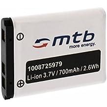 Batería D-Li63 para Pentax Optio L30, L40, M30, M40, T30, V10, W30.... (ver la descripción)