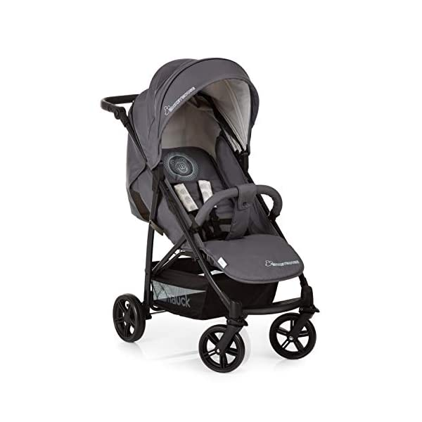 Hauck Rapid 4 X Plus Trio Set, 3-in-1 Travel System from Birth Up To 25 kg, Infant Car Seat Group 0, Carrycot and Buggy, One Hand Fold, Height-Adjustable Push Handle, Lying Position, Mickey Cool Vibes  3 in 1 stroller set. includes pushchair, carry cot and group 0+ car seat. Rapid fold system. the one hand fold system makes this pushchair ideal for shopping trips, and it folds small enough to fit in most car boot Optional isofix base.  the group 0+ car seat is compatible with the hauck comfort fix car seat base. 6
