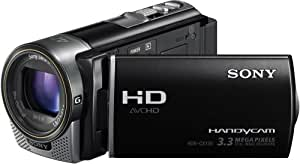 Sony HDRCX130EB Caméscope à carte mémoire Full HD 3 Mpix Zoom Optique 30x Noir
