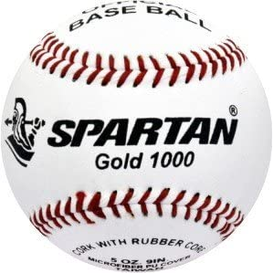 Spartan béisbol oro 1000de fibra sintética