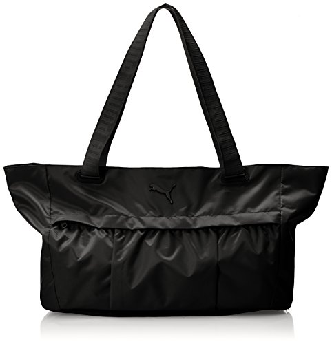 Puma Damen at Workout Bag Sporttasche, schwarz, 66 x 31 x 1,3 cm