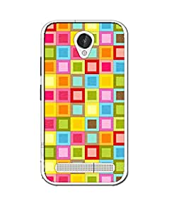 LAVA X46 SILICON BACK COVER BY instyler