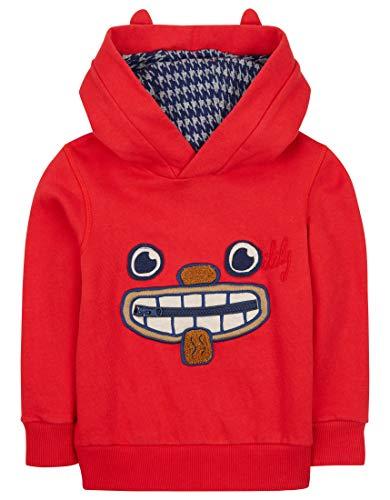 Oilily Roter Pullover für Jungen YF18BHJ501