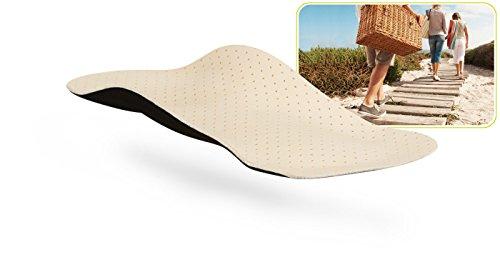myVALE myVALE Anytime Leather 3/4 Comfort plus maßgefertigte Komforteinlage Einlegesohle nach dem eigenen Fußabdruck