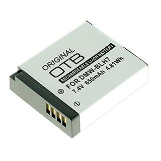 OTB Akku für Panasonic DMW-BLH7 Schwarz