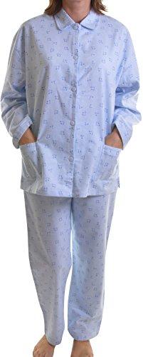 Dannii Matthews Damen Schlafanzug Medium Blau