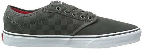 Vans M Atwood, Baskets mode homme Gris (suede checkers)