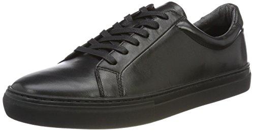 Vagabond Herren Paul Sneaker, Schwarz (Black/Black), 42 EU