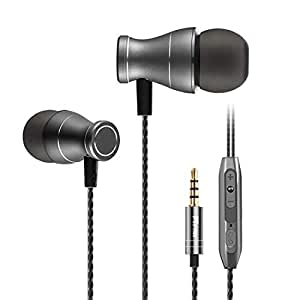 pTron Magg HBE (High Bass Earphones) Magnetic in-Ear Wired Headphones with Mic - (Black)