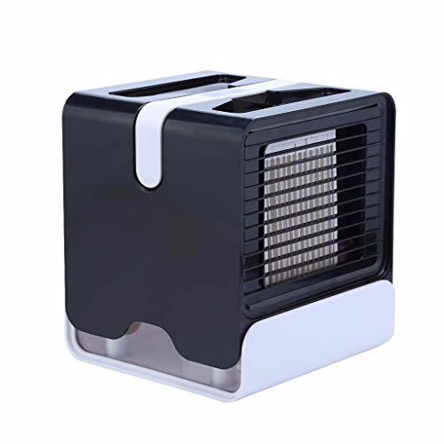 Climatiseur Portable, Mini Climatiseur Mobile, Refroidisseur d'air Portable - Rafraichisseur d'air Et Ventilateur, Climatiseur Humidificateur Purificateur