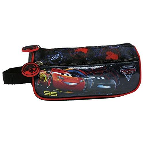 Cars Flash McQueen et Jackson Storm trousse d'école trousse de toilette 2 compartiments nouveauté Disney Cars 3