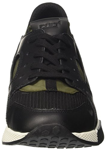 Cult Lemmy Low 1488, Sneakers basses homme Multicolore (Black/Khaki)