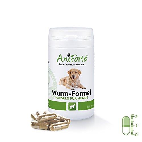 AniForte Wurm-Formel 50 Kapseln- Naturprodukt für Hunde