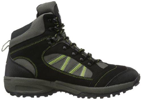 Lico Rancher Herren Trekking & Wanderstiefel schwarz/grau/grün