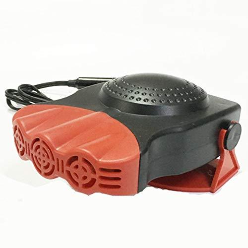 ZRK Auto Defogger-Auto Heizung Auto DREI Defrosting Snow-Portable 12V Heizung Heizung Heiß-und Kaltwasser-Heizung Automatische Heizung überhitzenden Schutz,Red -